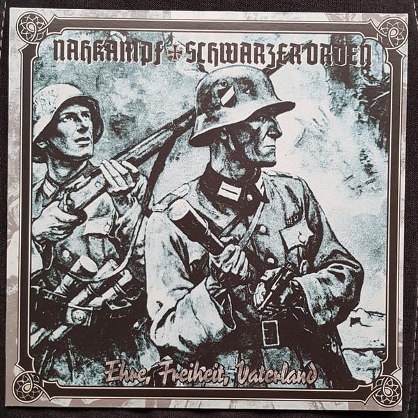 Nahkampf / Schwarzer Orden - Ehre, Freiheit, Vaterland LP
