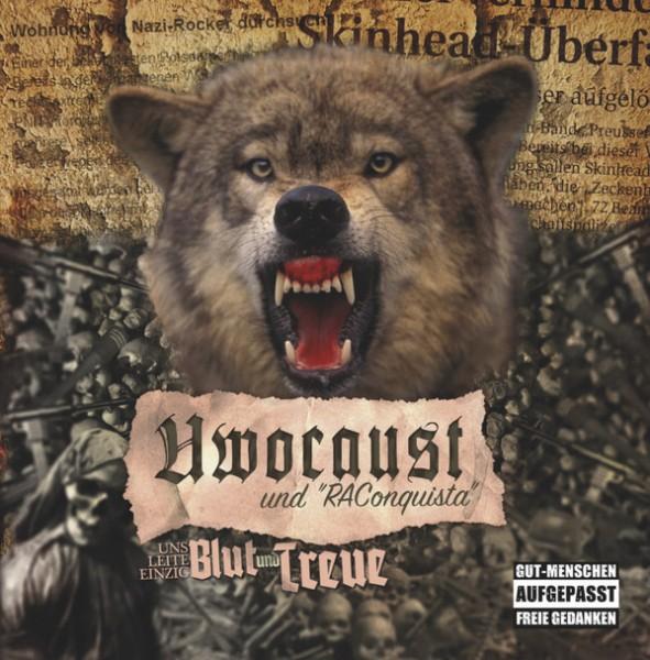 Uwocaust & RAConquista - Uns leite einzig Blut und Treue CD