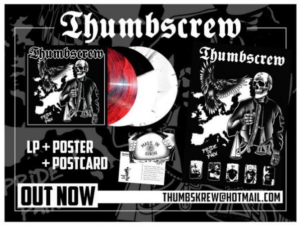 Thumbscrew - Pride of pain LP