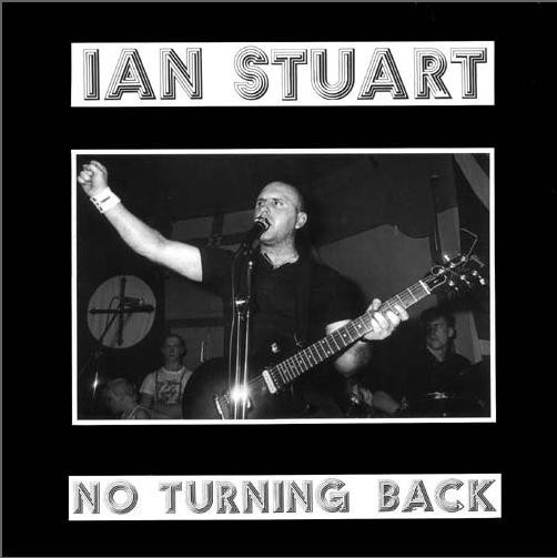 Ian Stuart - No turning back LP orange-gelb