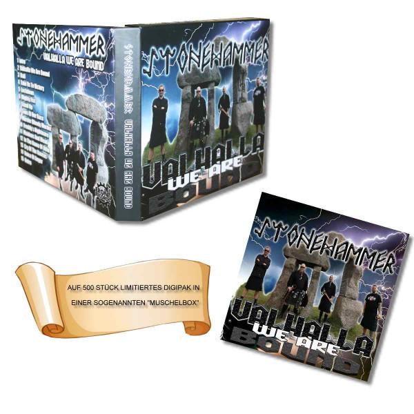Limitierte Muschelbox Stonehammer - Valhalla we are bound CD