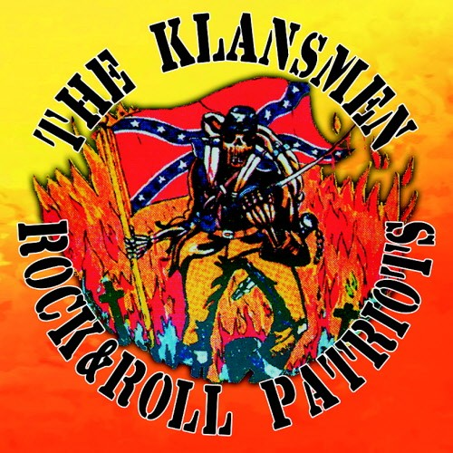 (Skrewdriver) The Klansmen ‎- Rock & Roll Patriots + Bonus / LP Weiss