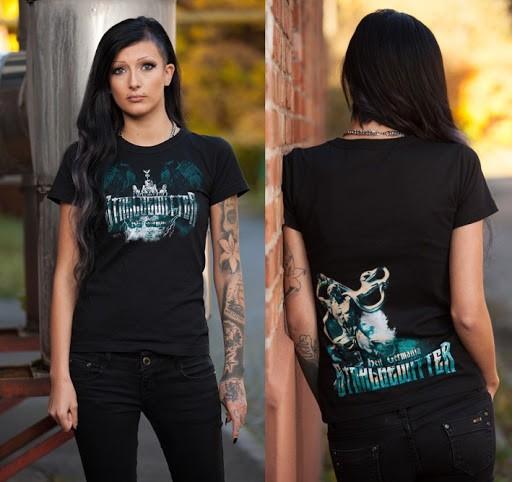 Frauen T-Shirt Stahlgewitter - Heil Germania