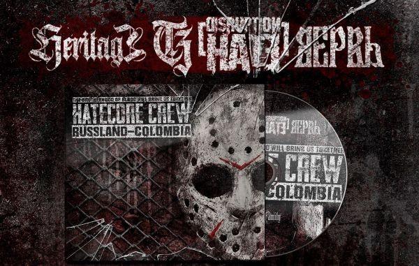 HATECORE CREW - HERITAGE / DISRUPTION HATE / VERVE / SOBER CHARGE - DIGIPAK CD