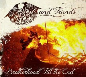ZURZIR AND FRIENDS - BROTHERHOOD TILL THE END Digipak CD