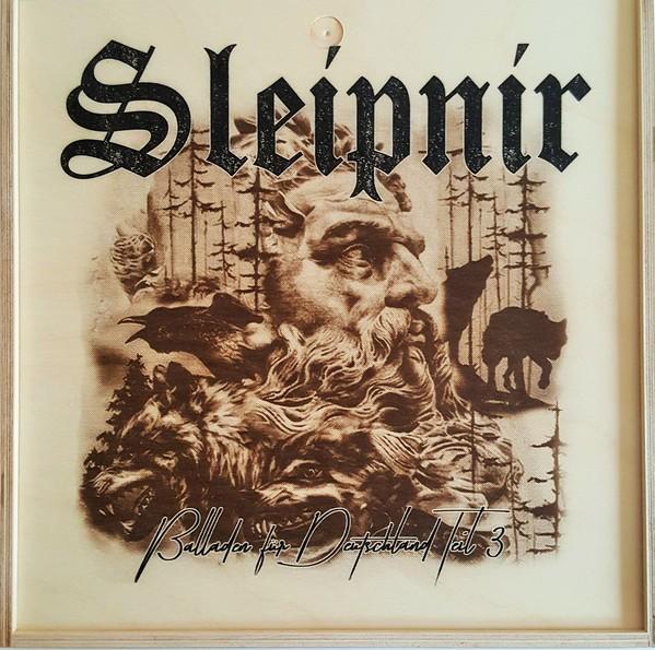 Sleipnir - Balladen für Deutschland Teil 3 Holzbox mit 3 LPs