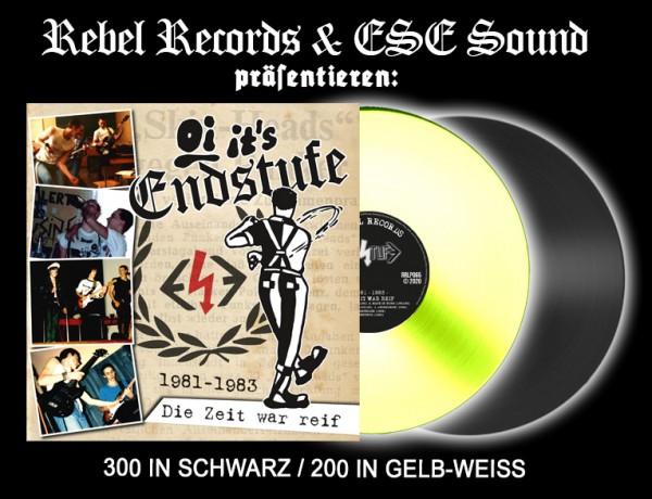 Endstufe - Die Zeit war reif LP schwarz