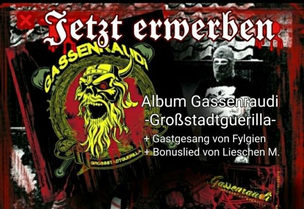 Gassenraudi - Grossstadtguerilla CD