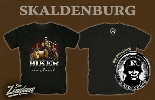 Biker im Dienst Skaldenburg T-Hemd
