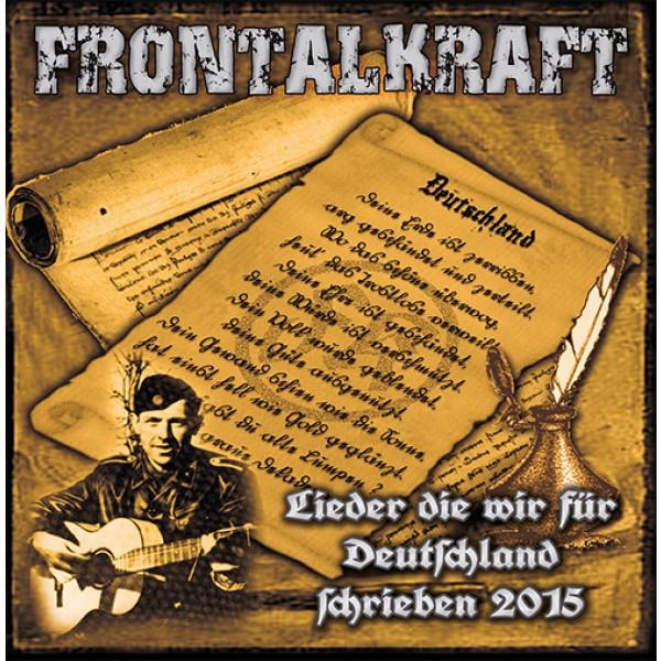 Frontalkraft – Lieder die wir für Deutschland schrieben 2015