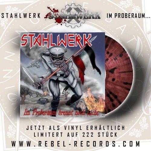 STAHLWERK – IM PROBERAUM BRENNT NOCH LICHT… - LP