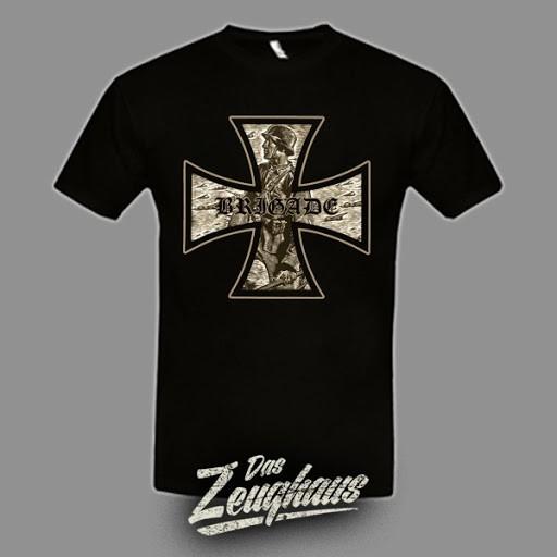 Männer T-Shirt Brigade 88 - EK Schwarz