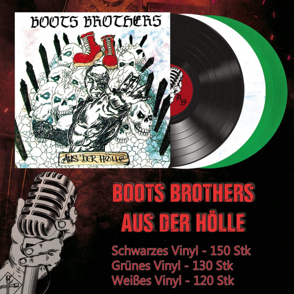 Boots Brothers - Aus der Hölle LP