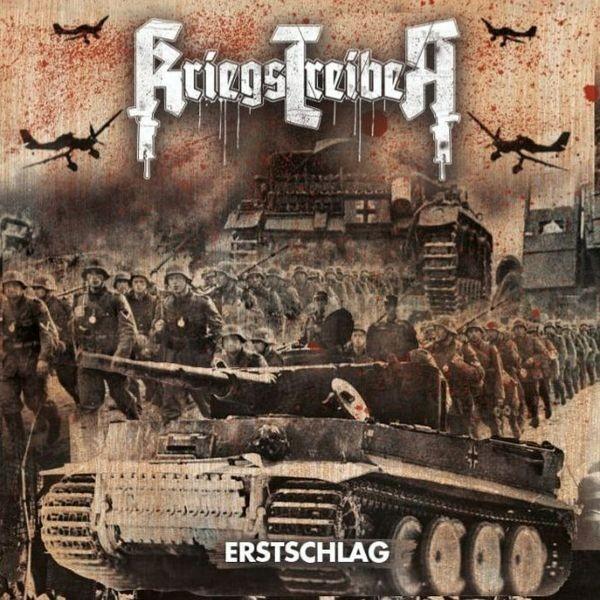 KRIEGSTREIBER - ERSTSCHLAG CD