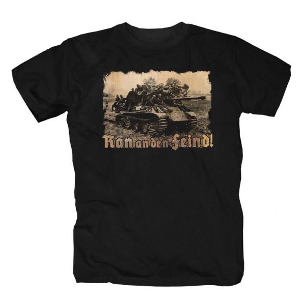 Herren T-Shirt R.a.d.F Schwarz