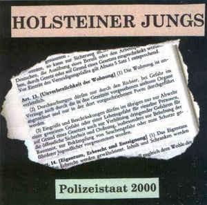 Holsteiner Jungs - Polizeistaat 2000 Mini CD
