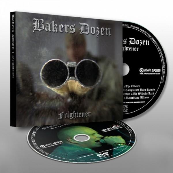 """Bakers Dozen - """"Frightener"""" CD+DVD"""