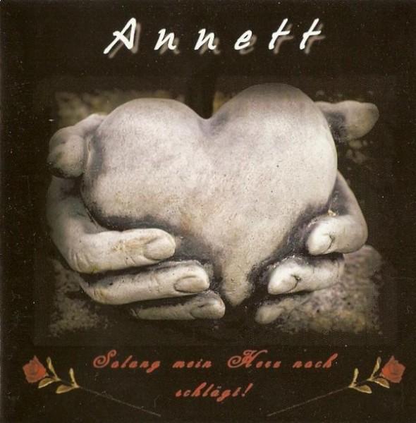 Annett - Solang mein Herz noch schlägt CD
