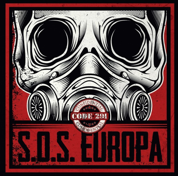 CODE 291 - S.O.S. EUROPA - LP schwarz