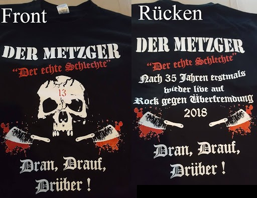 Der Metzger - Rock gegen Überfremdung Hemd