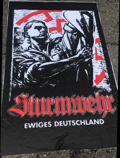 Sturmwehr - Ewiges Deutschland Fahne