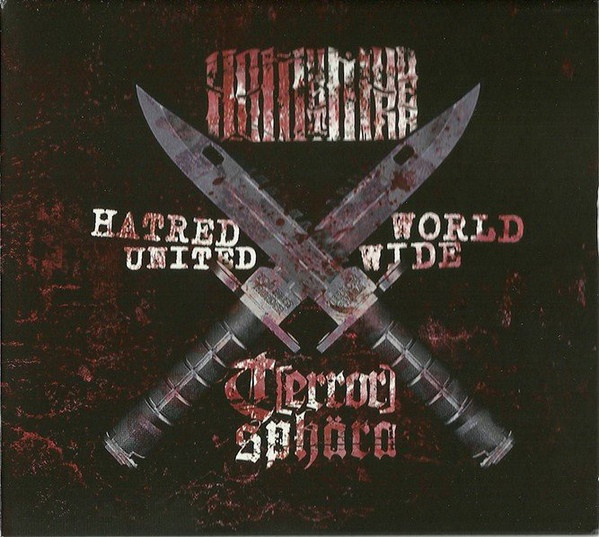 Hatred United Worldwide - Digpak CD