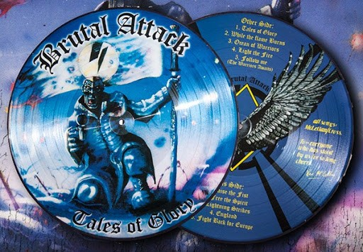 Brutal Attack - Tales of Glory Picture LP