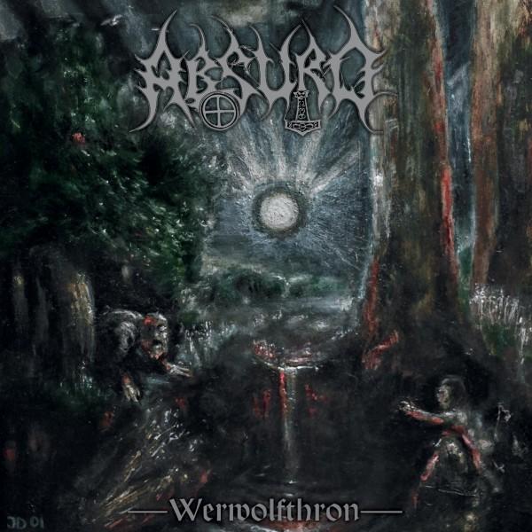 Absurd - Werwolfthron Re-Release CD