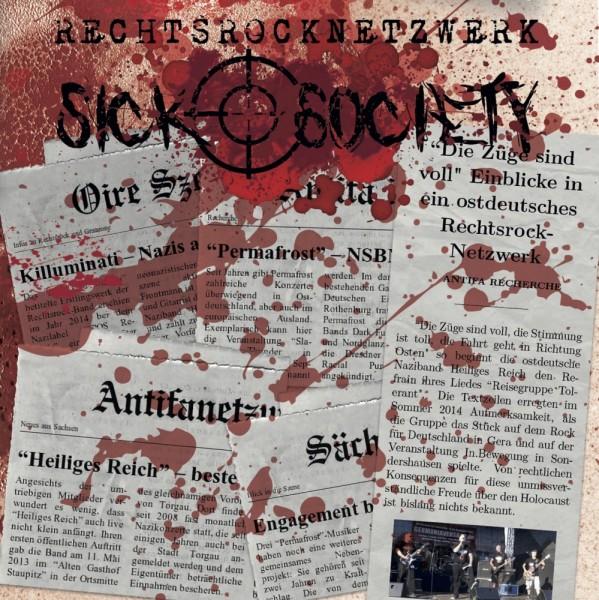 Sick Society - Rechtsrocknetzwerk CD