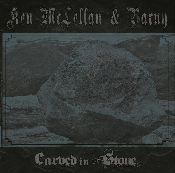 Ken McLellan & Barny - Carved in stone LP