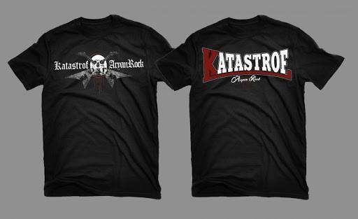Katastrof - Aryan Rock T-Hemd