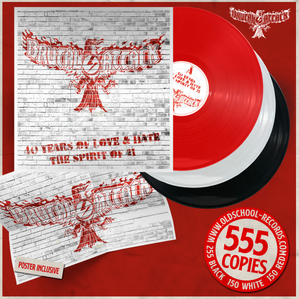 Brutal Attack - 40 years of love & hate LP