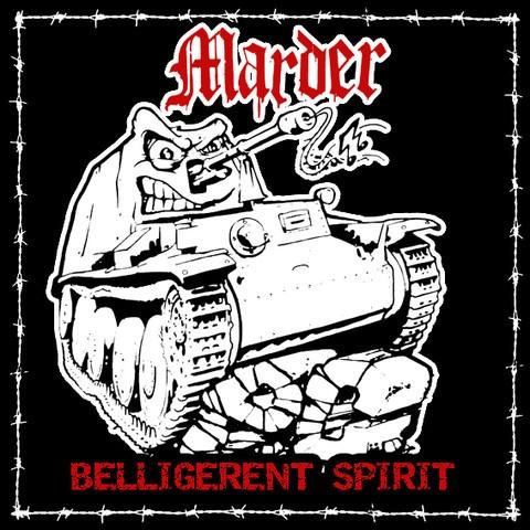 Marder - Belligerent Spirit CD