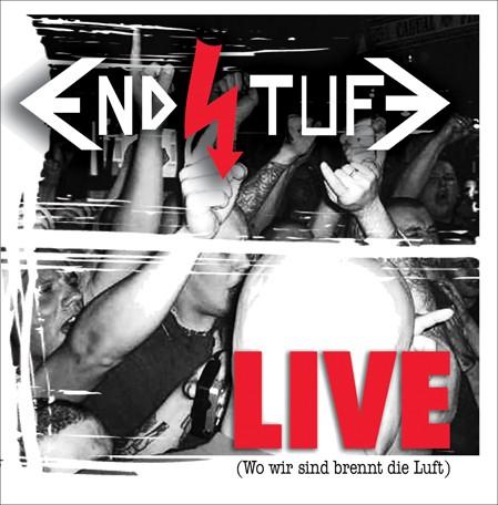"""Endstufe - Wo wir sind brennt die Luft """"Live""""- LP weiß"""