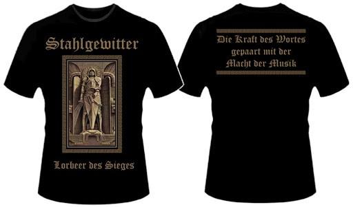 Stahlgewitter - Lorbeer des Sieges T-Hemd