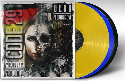 Code 291 - Tolerant today-Dead tomorrow LP blau