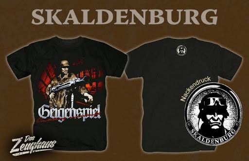 Geigenspiel Skaldenburg T-Hemd