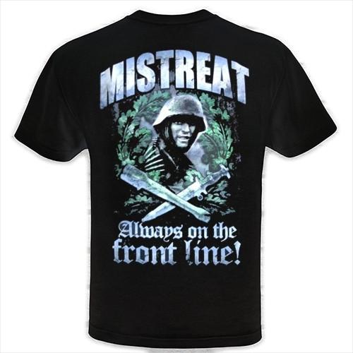 Männer T-Shirt Mistreat Schwarz