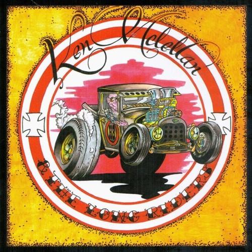 Ken McLellan & The Long Riders - H8 Balls of Fire - LP schwarz