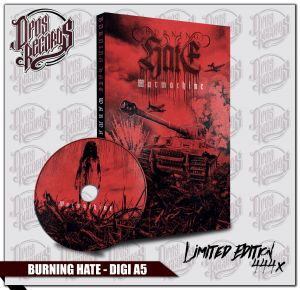 Burning Hate - Warmachine limitiertes Digipak
