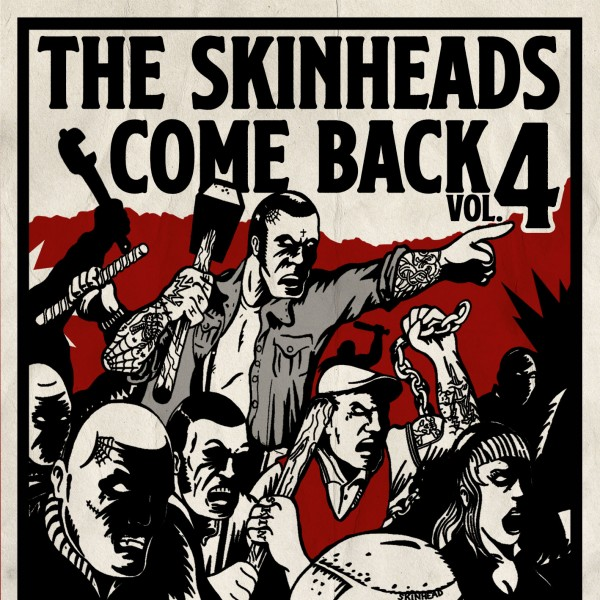 The Skinheads come back Vol. 4 CD