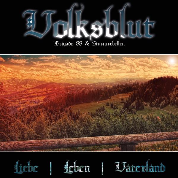 Volksblut - Liebe, Leben, Vaterland CD