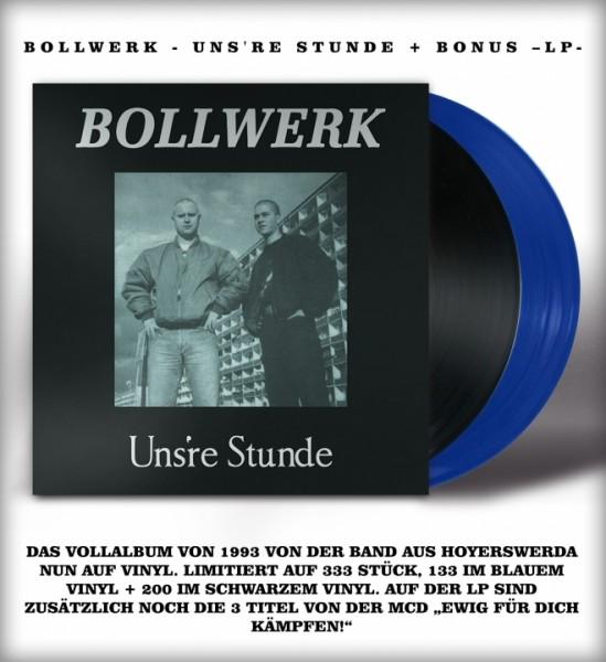 Bollwerk - Uns're Stunde + Bonus -LP- schwarz