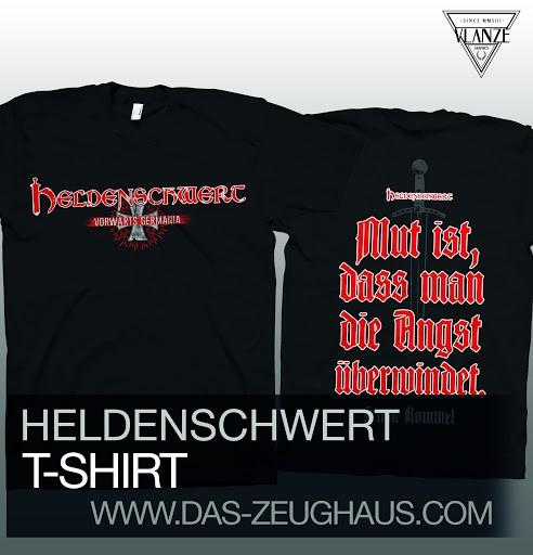 Heldenschwert - Vorwärts Germania! T-Hemd
