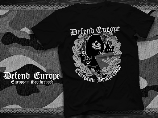 Defend Europe - European Brotherhood Hemd