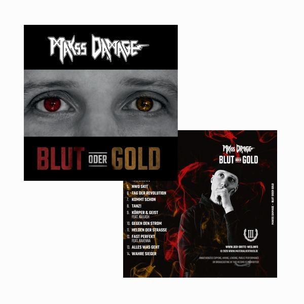 MAKSS DAMAGE – BLUT ODER GOLD CD