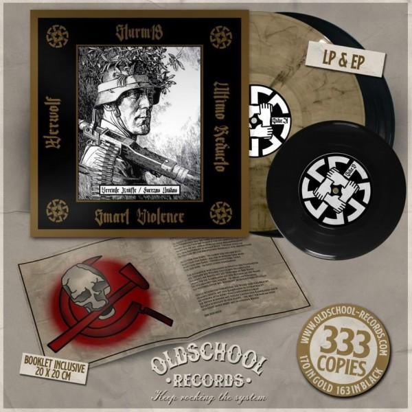 Sturm 18, Smart Violence, Ultimo Reducto, Werwolf – Vereinte Kräfte / Fuerzas Unidas CD