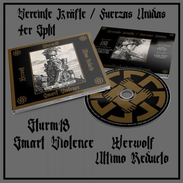 Sturm 18, Smart Violence, Ultimo Reducto, Werwolf – Vereinte Kräfte / Fuerzas Unidas Digibook