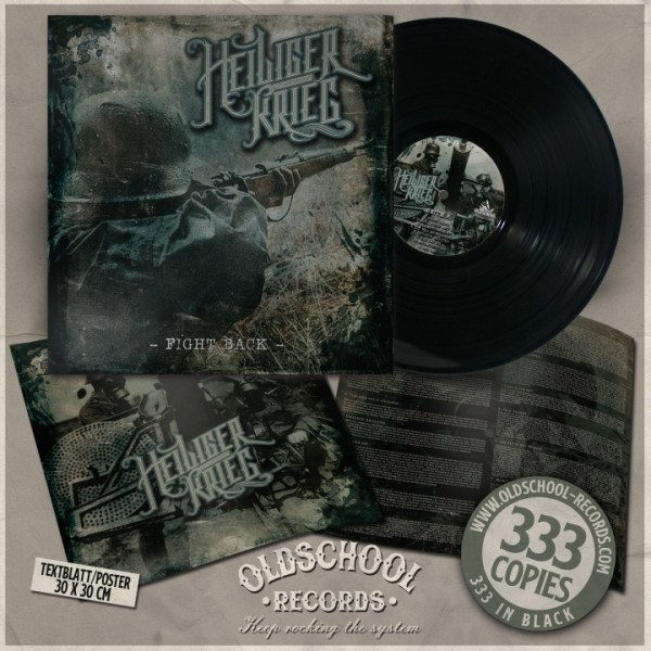 Heiliger Krieg - Fight Back - LP Cover A