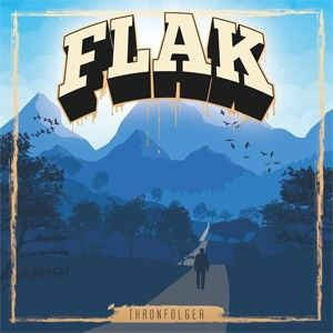 FLAK - THRONFOLGER Doppel LP schwarz